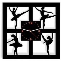BALET kwadrat zegar