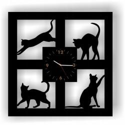 KOT KWADRATOWY zegar