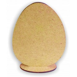 DECOUPAGE jajko stojące