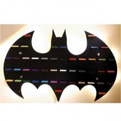 BATMAN czarny LED
