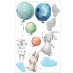 KRÓLIKI z balonami
