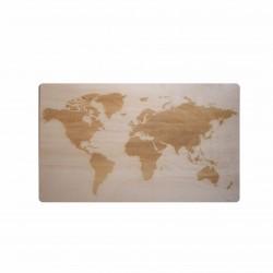 MAPA drewniana