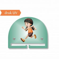 BIEGI dziewczynka UV mały